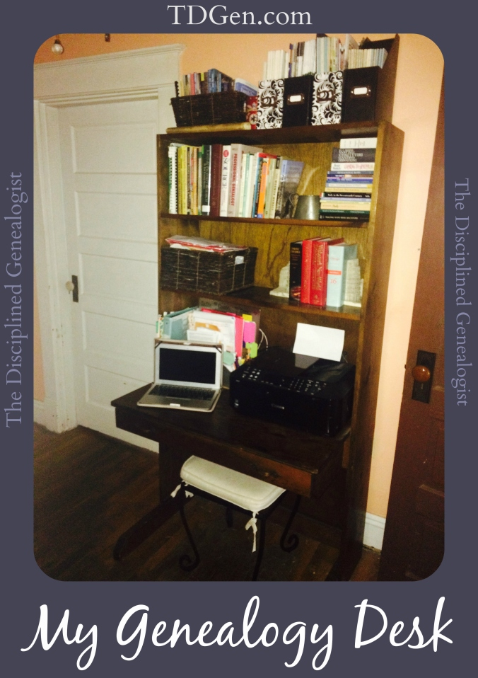 genealogy desk